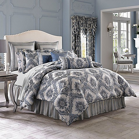 J queen new york brianna comforter set bed bath beyond - Bed bath and beyond bedroom furniture ...