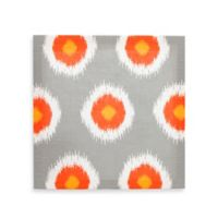 Glenna Jean Rhythm Orb Wall Art in Grey/Orange