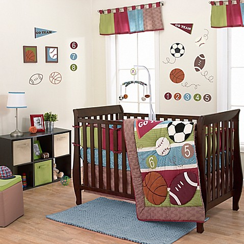 Belle Sports Star Crib Bedding Collection Buybuy Baby