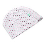 Tortle Size Small Cotton Beanie in Pink Polka Dot