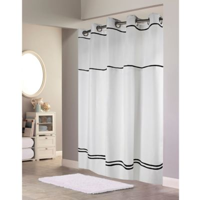 HooklessR Escape Fabric Shower Curtain And Liner Set