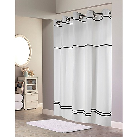 Buy Hookless Escape Fabric Shower Curtain And Shower Curtain Liner Set From Bed Bath Beyond