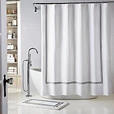 Wamsutta 174 Baratta Stitch Shower Curtain Bed Bath Amp Beyond