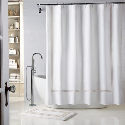 Buy 54 x 78 Fabric Shower Stall Curtain from Bed Bath & Beyond
