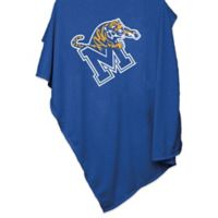 Memphis University 84-Inch x 54-Inch Sweatshirt Throw Blanket
