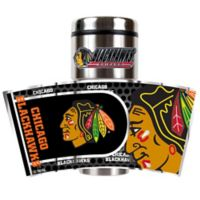 NHL Chicago Blackhawks 16 oz. Metallic Tumbler