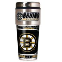 NHL Boston Bruins 16 oz. Metallic Tumbler
