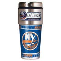 NHL New York Islanders 16 oz. Metallic Tumbler