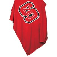 North Carolina State 84-Inch x 54-Inch Sweatshirt Throw Blanket
