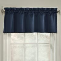 Oxford Window Valance in Navy