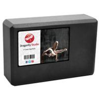 Dragonfly™ Yoga 4-Inch Foam Block in Black