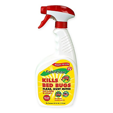 Fabriclear 24 Oz Bed Bug Spray Bed Bath Amp Beyond