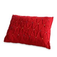Fiesta® Dash Pic Stich Embroidered Dot Oblong Throw Pillow