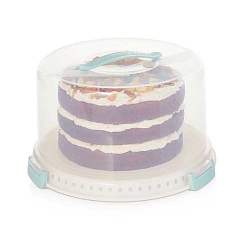Sweet Creations 3 Piece Cake Carrier Set Bed Bath Amp Beyond