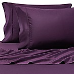 Pure Beech® 100% Modal  Sateen Standard Pillowcase Pair in Plum