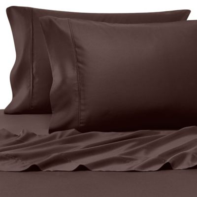 Buy Chocolate Brown Sheets From Bed Bath Amp Beyond