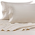 Eucalyptus Origins™ Tencel® Lyocell Standard Pillowcases in Ivory Stripe (Set of 2)