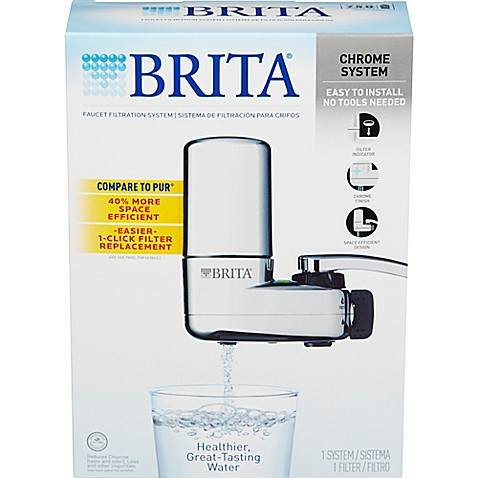 Brita 174 Faucet Filtration System Bed Bath Amp Beyond