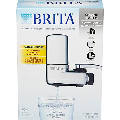 brita faucet filtration system bed bath beyond. Black Bedroom Furniture Sets. Home Design Ideas