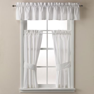 white bathroom window curtains buy hookless 174 waffle 45 inch window curtain in white from 21491