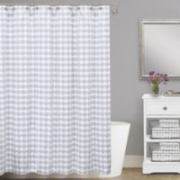 Lamont HomeR Finley 54 Inch X 78 Cotton Matelasse Stall Shower Curtain