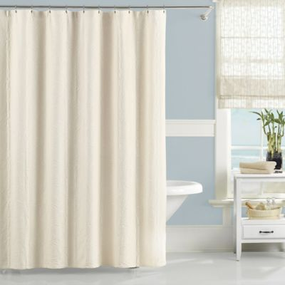 Lamont Home™ 76 Inch X 96 Inch Nepal Shower Curtain In Ivory