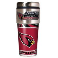 NFL Arizona Cardinals 16 oz. Stainless Steel Travel Tumbler