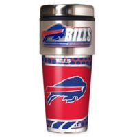NFL Buffalo Bills 16 oz. Stainless Steel Travel Tumbler