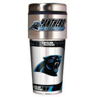 NFL Carolina Panthers 16 oz. Stainless Steel Travel Tumbler