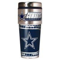 NFL Dallas Cowboys 16 oz. Stainless Steel Travel Tumbler
