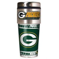NFL Green Bay Packers 16 oz. Stainless Steel Travel Tumbler