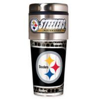 NFL Pittsburgh Steelers 16 oz. Stainless Steel Travel Tumbler
