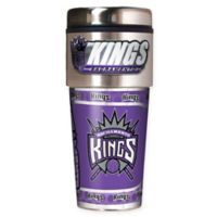 NBA Sacramento Kings 16 oz. Metallic Travel Tumbler