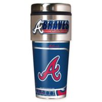 MLB Atlanta Braves 16 oz. Metallic Tumbler