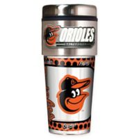 MLB Baltimore Orioles 16 oz. Metallic Tumbler