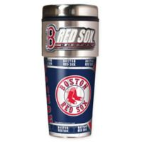 MLB Boston Red Sox 16 oz. Metallic Tumbler