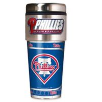 MLB Philadelphia Phillies 16 oz. Metallic Tumbler