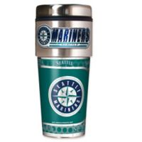 MLB Seattle Mariners 16 oz. Metallic Tumbler