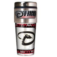 MLB Arizona Diamondbacks 16 oz. Metallic Tumbler