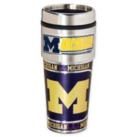 University of Michigan 16 oz. Metallic Tumbler