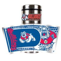 Fresno State University 16 oz. Metallic Tumbler