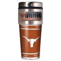 University of Texas 16 oz. Metallic Tumbler