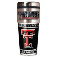 Texas Tech University 16 oz. Metallic Tumbler