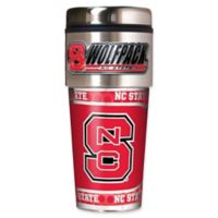 North Carolina State University 16 oz. Metallic Tumbler
