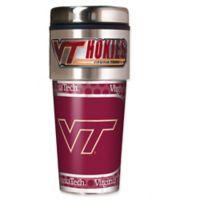 Virginia Tech 16 oz. Metallic Tumbler