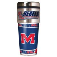 University of Mississippi 16 oz. Metallic Tumbler