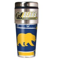 University of California Berkeley 16 oz. Metallic Tumbler