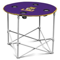 LSU Round Collapsible Table