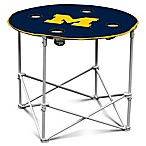 University of Michigan Round Collapsible Table