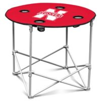 University of Nebraska Round Collapsible Table